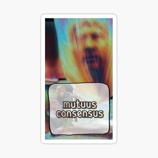 mutuus consensus Sticker