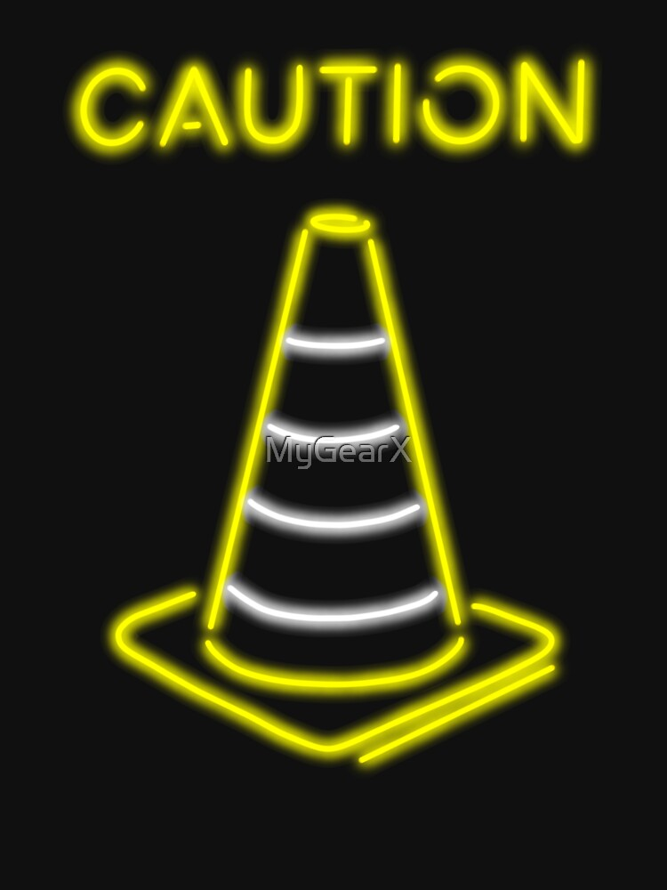 Caution Club (Neon Signs) by MyGearX