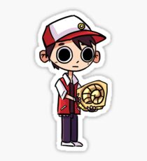 Listen to the lord Helix Sticker