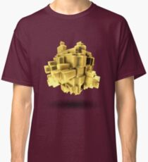 Gold abstract Classic T-Shirt
