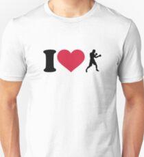 I love boxing boxer Unisex T-Shirt