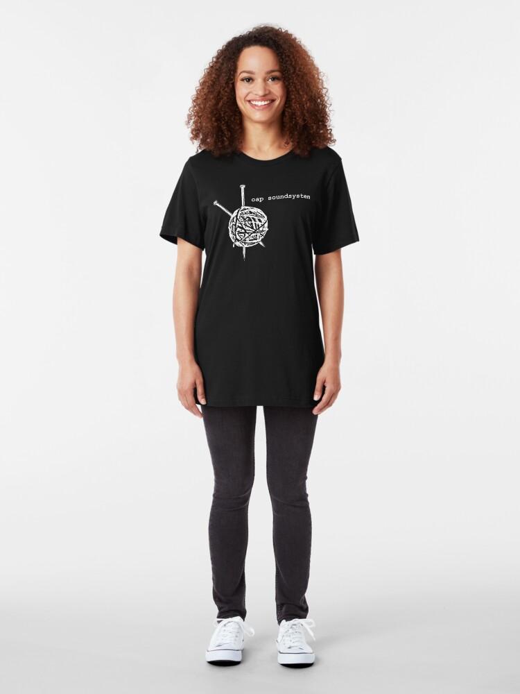 Alternate view of OAP Soundsystem Slim Fit T-Shirt