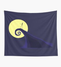 Tim Burton's Nightmare Before Christmas Wall Tapestry