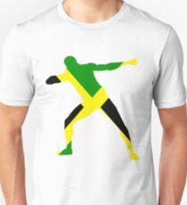 Usain Bolt Slim Fit T-Shirt