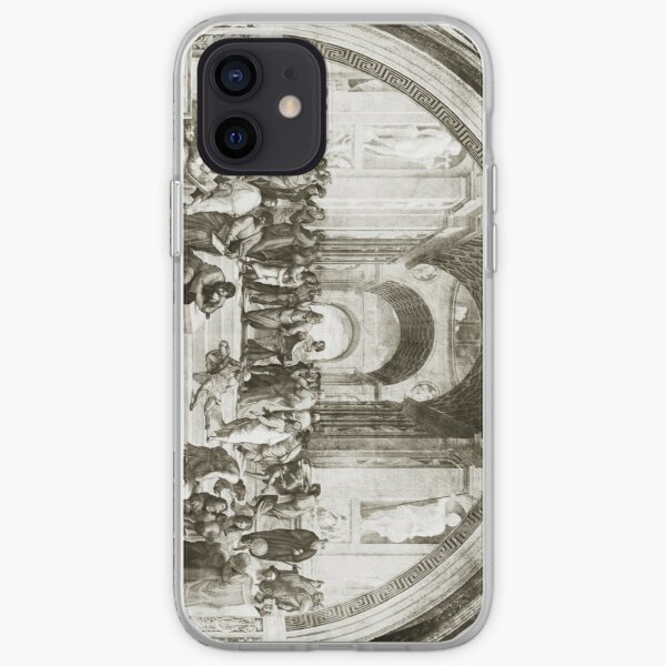 School of Ahtens iPhone Soft Case