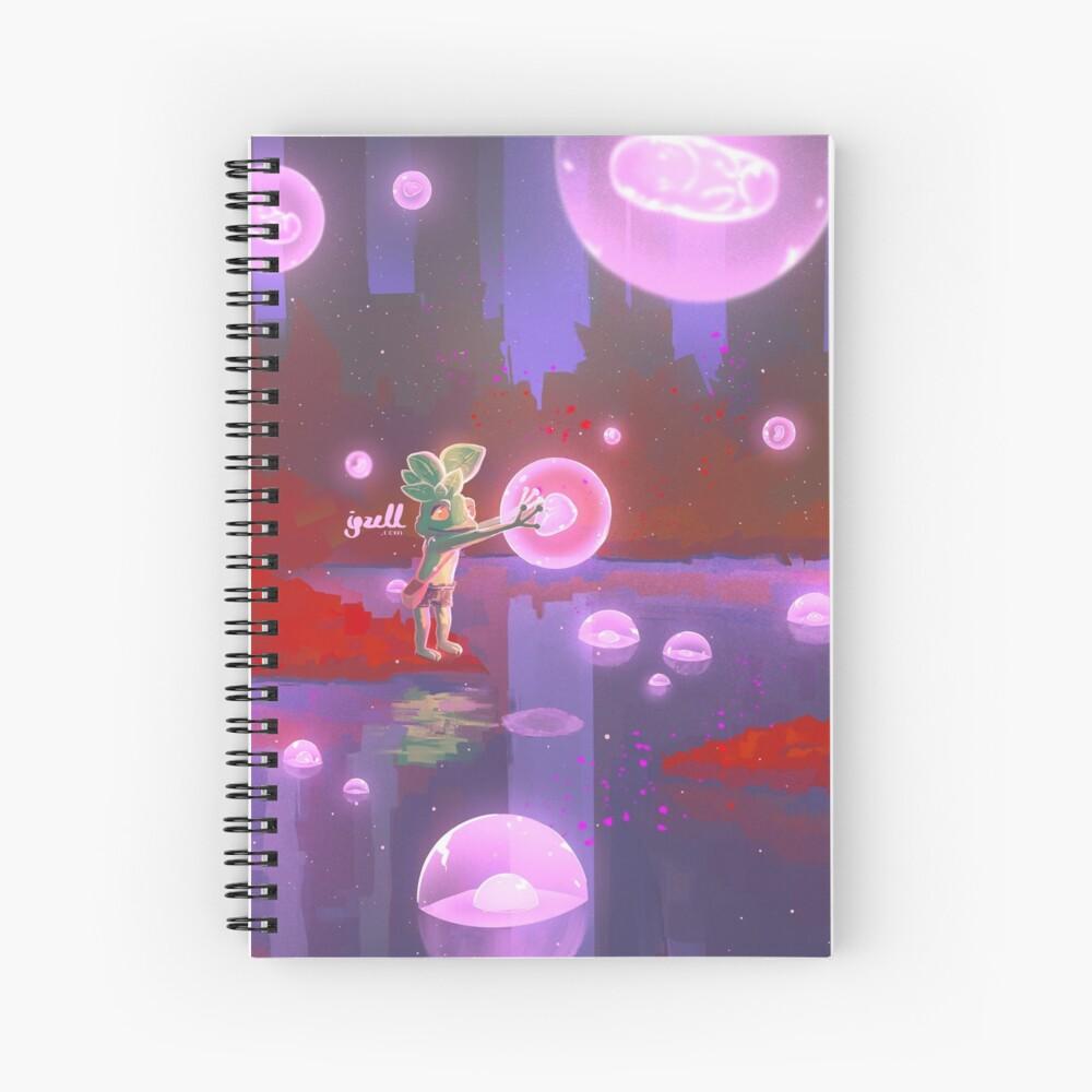Red forest Cuaderno de espiral