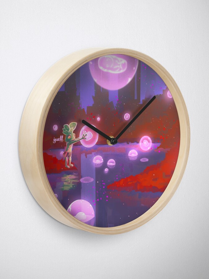 Vista alternativa de Reloj Red forest