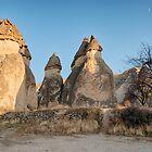 Fairy Chimneys, Cappadocia, Turkey by Bob Culshaw