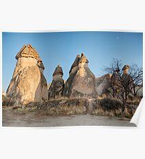 Fairy Chimneys, Cappadocia, Turkey Poster