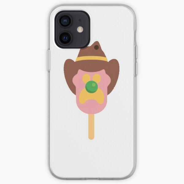 Bubbble O bill ice cream logo iPhone Soft Case