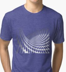 Waves and circles Tri-blend T-Shirt