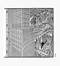 Future city. Photographic Print