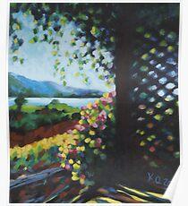 """""""Oyama"""" 2011 - acrylic on canvas Poster"""