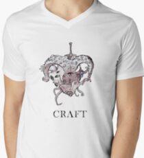 Lovecraft Heart Men's V-Neck T-Shirt