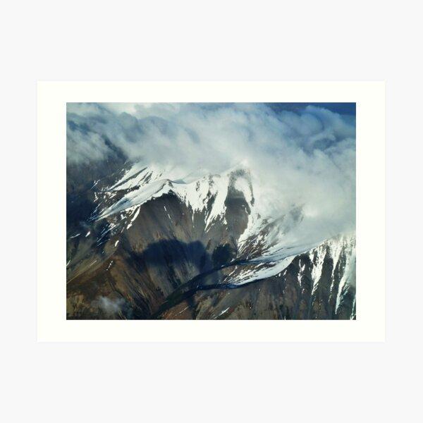 The Waves of Cloud  Art Print