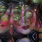 Mask Twins by Linda Sannuti