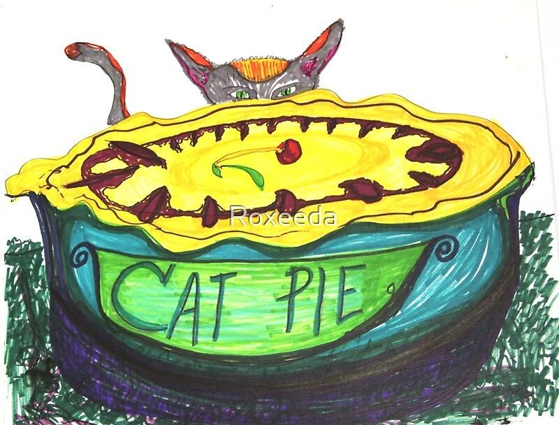 Cat Pie Cherry Pie by Roxeeda