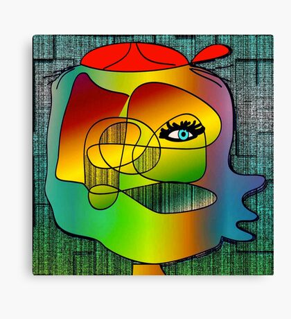 Another Picasso cartoon Canvas Print