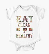 T-shirt / Eat clean & healthy Kids Clothes