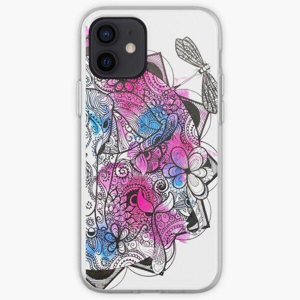 Elephant Mandala iPhone Soft Case