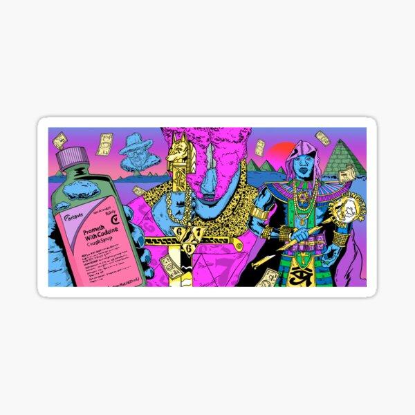 667 freeze corleone Sticker