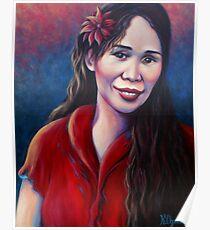 """Joan"" 2011 - acrylic on canvas Poster"
