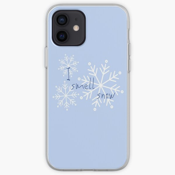 Gilmore quote: 'I smell snow' iPhone Soft Case