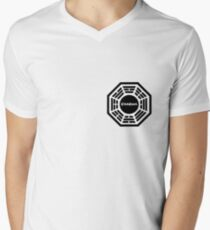 Dharma Initiative logo uniform Men's V-Neck T-Shirt