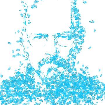 Walter White Heisenberg Breaking Bad Blue Sky by karolisbutenas
