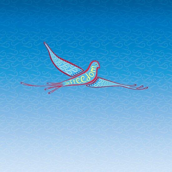 Freedom Bird by icelaperezbravo