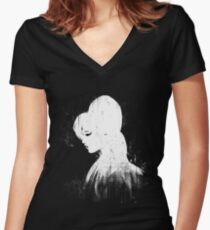 Back to Black Women's Fitted V-Neck T-Shirt