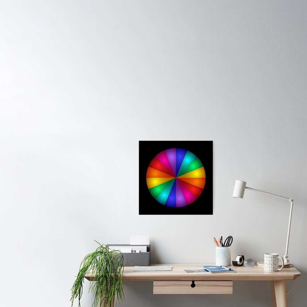 Color Me Rainbow Poster
