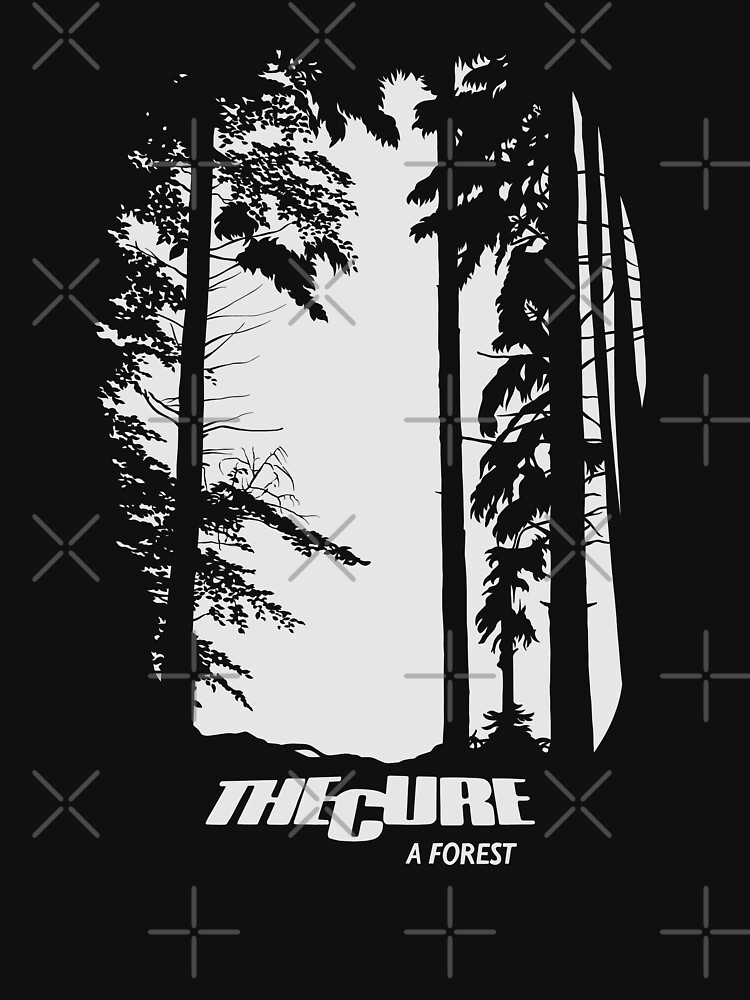 The Cure A Forest by LapinMagnetik