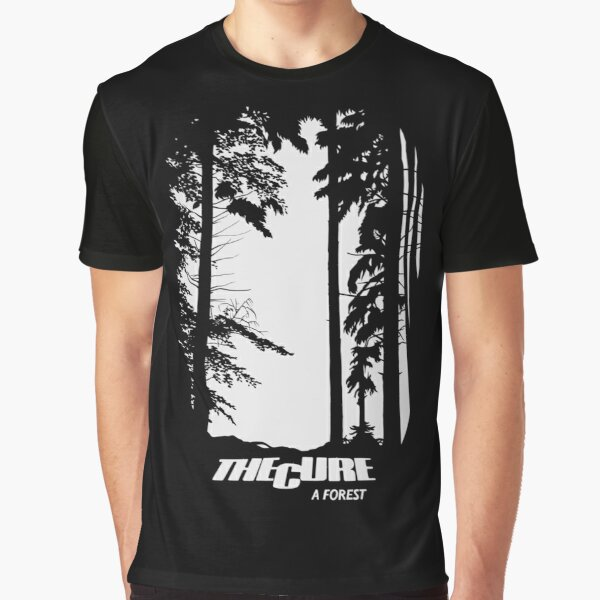 The Cure A Forest Graphic T-Shirt
