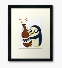 Gunter Loves Beer Framed Print