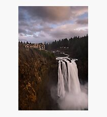 Cliff Hanger Photographic Print