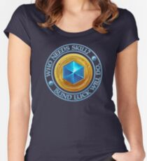 Game of Luck v3 Women's Fitted Scoop T-Shirt