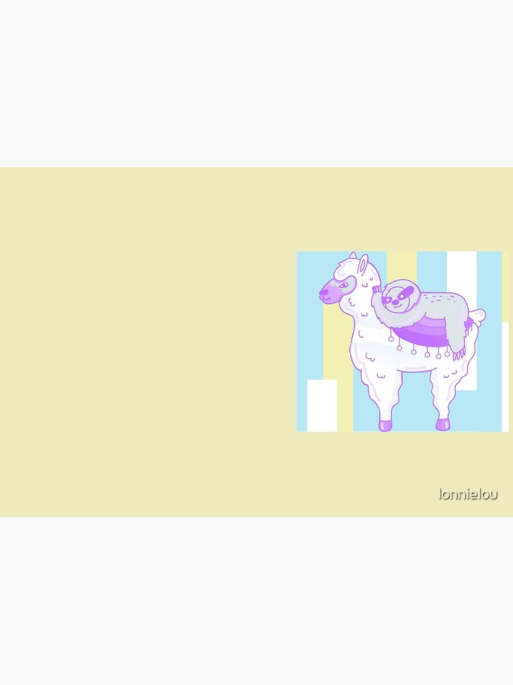 Alpaca & Sloth Best Friends by lonnielou