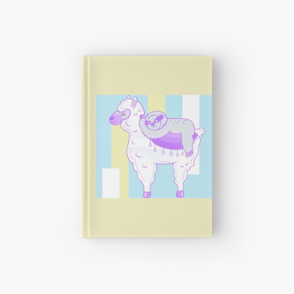 Alpaca & Sloth Best Friends Hardcover Journal