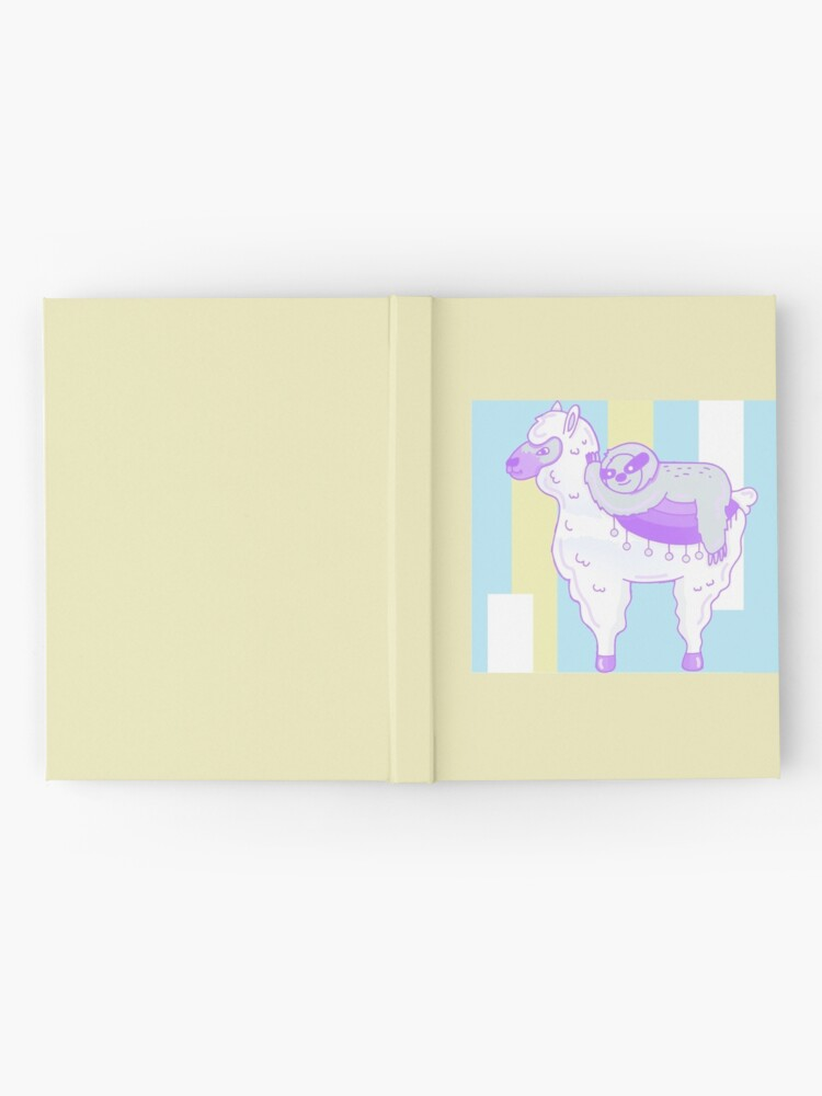 Alternate view of Alpaca & Sloth Best Friends Hardcover Journal