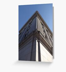Building Corner Greeting Card