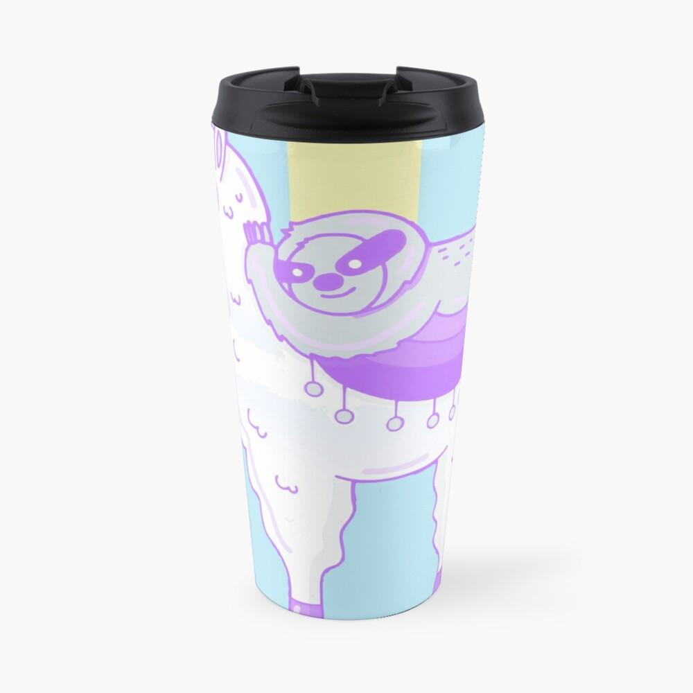 Alpaca & Sloth Best Friends Travel Mug