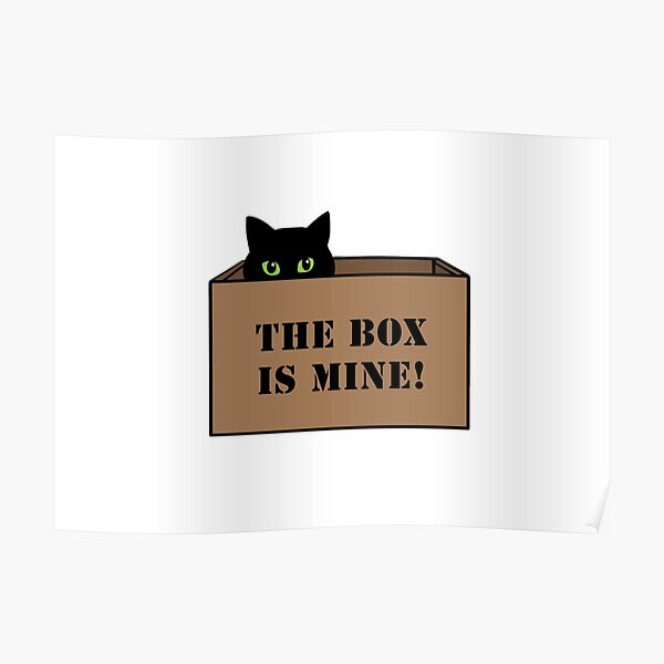 The Box is Mine! Poster