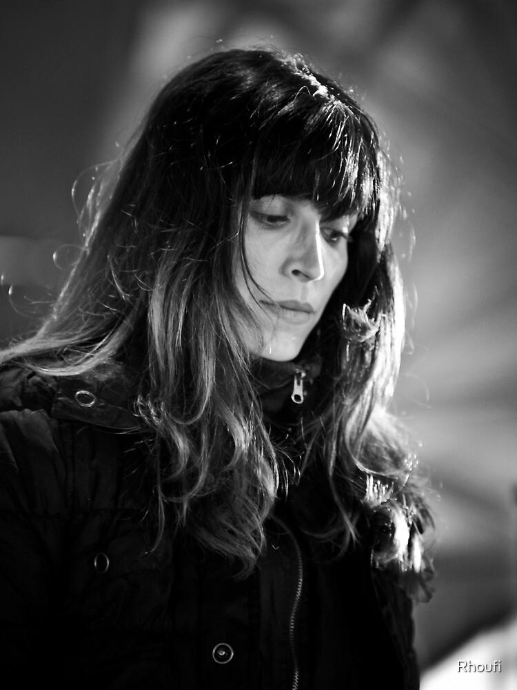 Light in Winter - Street Theatre Portrait #5 by Rhoufi