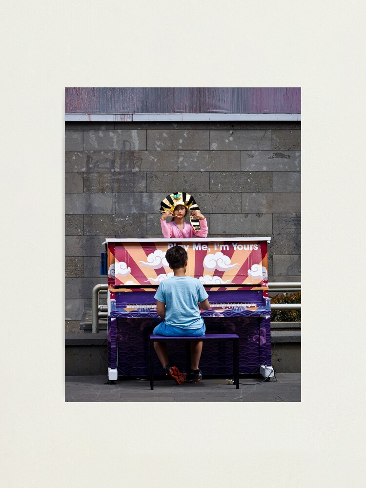 Alternate view of Playing for the Pharaoh Photographic Print
