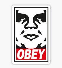 Obey_street art Sticker