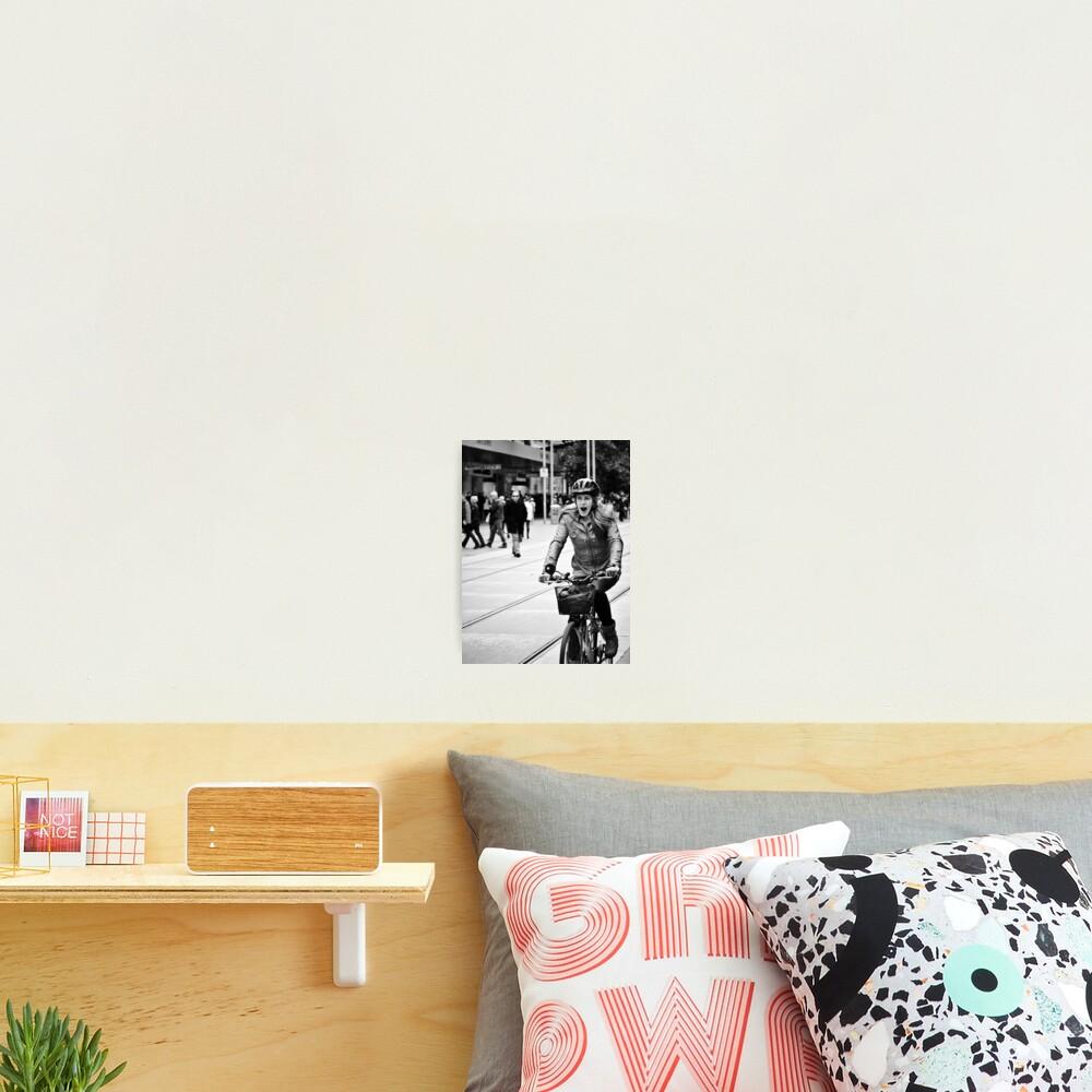 The 50m Yawn Photographic Print
