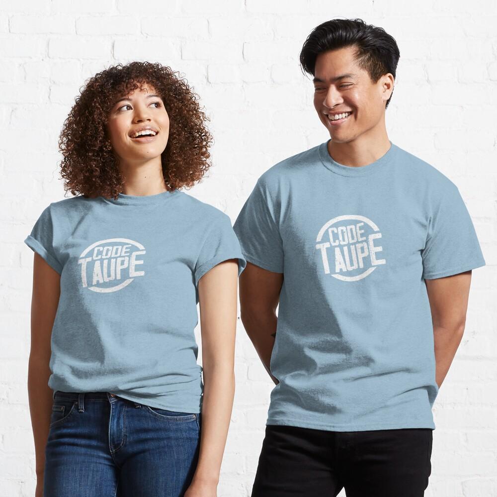 T-shirt classique «Code Taupe - Au service de la France»