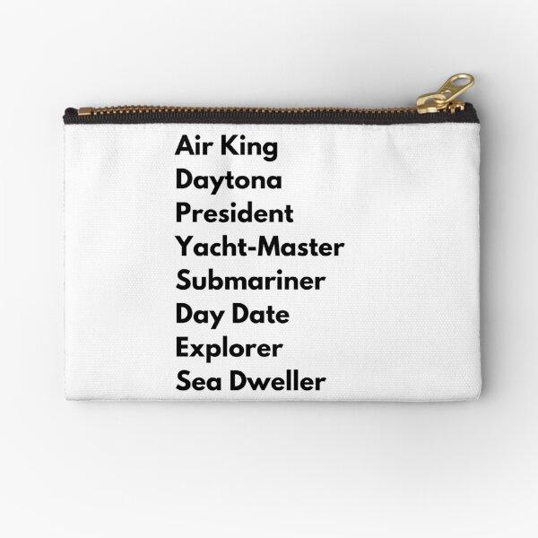 Rolex watch list Zipper Pouch