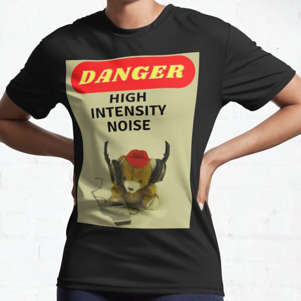 High intensity noise Active T-Shirt